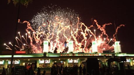 HS - Star Wars Fireworks Outside Entrance 2