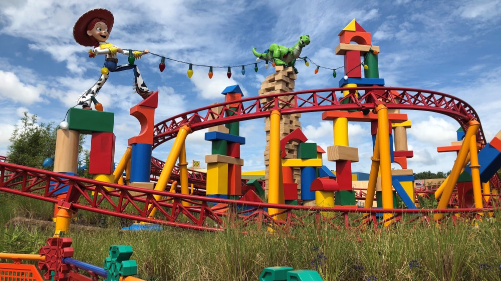 Toy Story Land Jesse